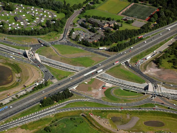 The M8 M73 M74 project will upgrade the busiest parts of Scotland's motorway network